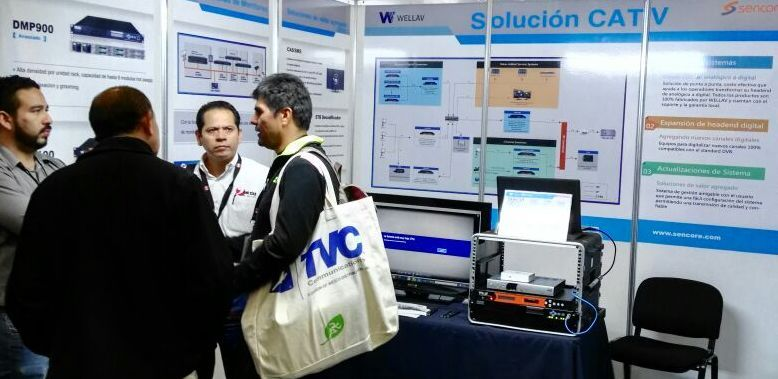 Wellav|Sencore Showcases Digital Cable Solutions at Mexican Convergencia Show