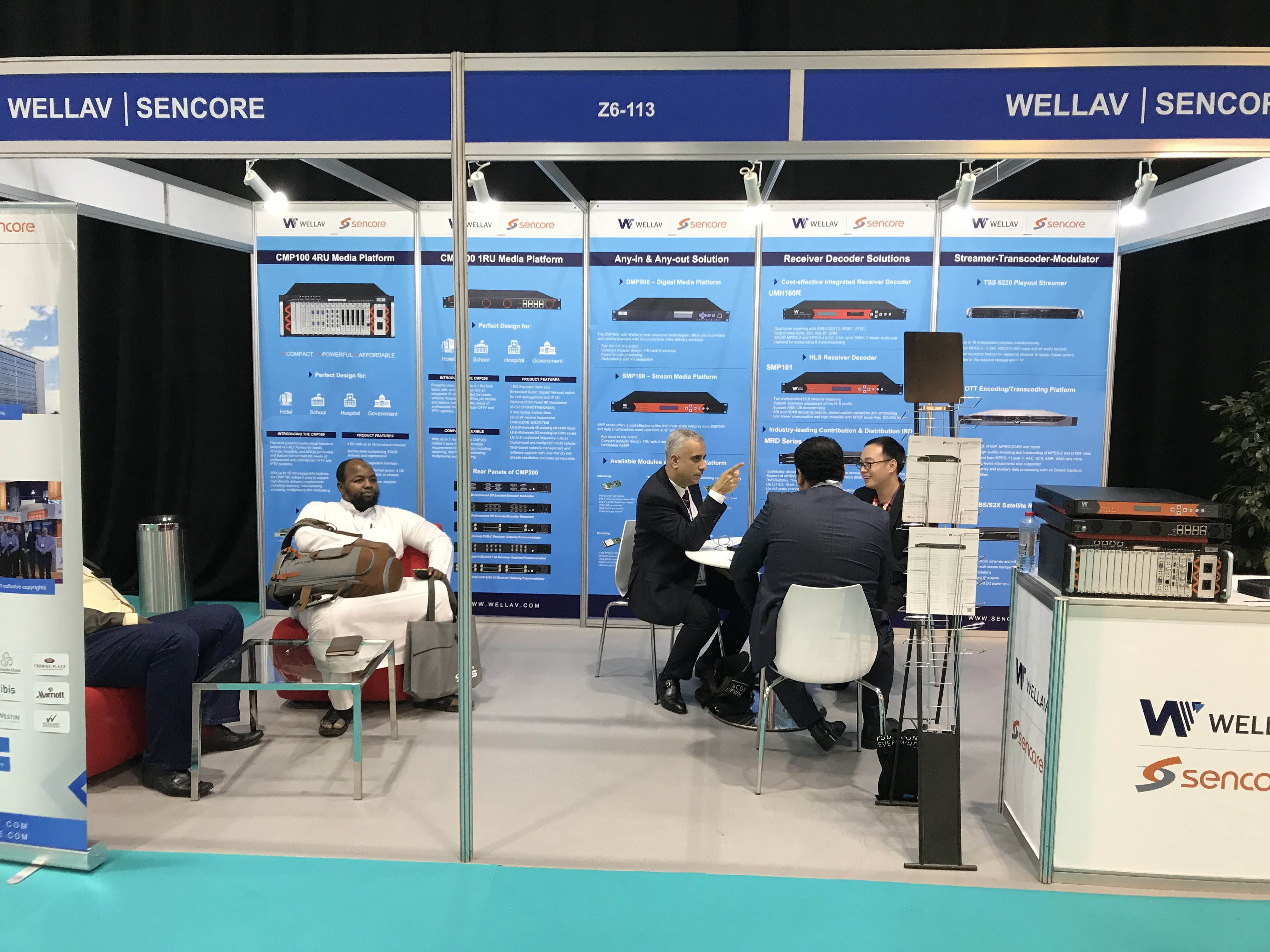 Wellav attended Cabsat2018