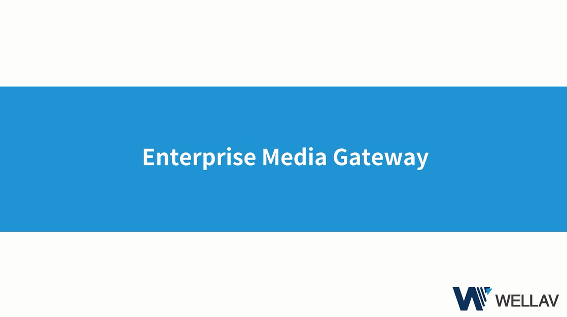 Enterprise Media Gateway - CMP100/200